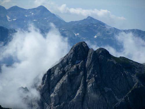Clouds in Julian Alps