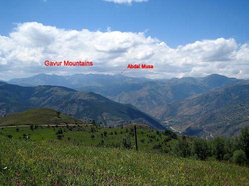 Gavur Mountains