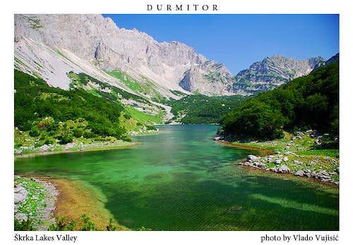 Magnificent Škrka Lakes Valley