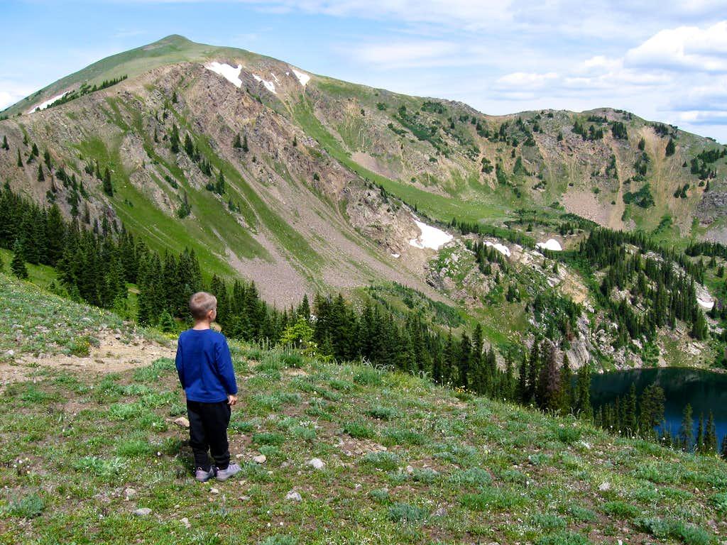Cascade Mountain and Bowen Lake