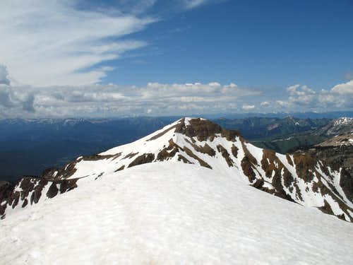 Corner Peak-- Summit