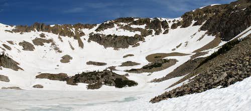 Corner Peak from Mac Leod Lake