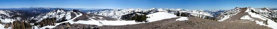 Peak 8506 Summit Panorama