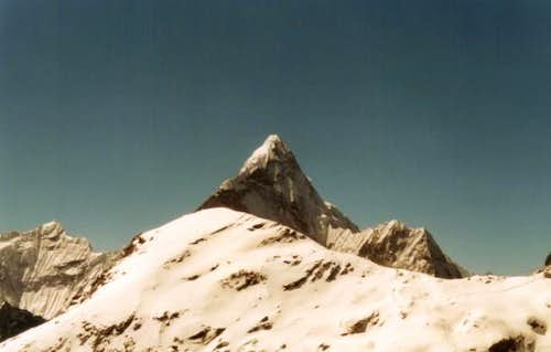 Ama Dablam from the top of...