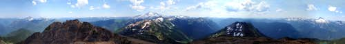 Painted Mountain 360° View