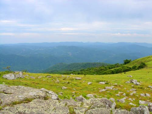 Big Yellow Mountain Summit View Northwest
