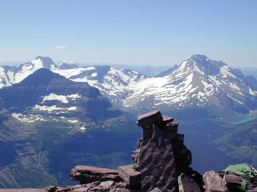 Peaks and Glaciers