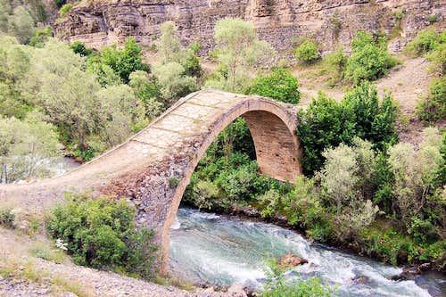 Bridge over Cit Creek