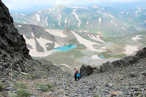 Three-Lakes basin
