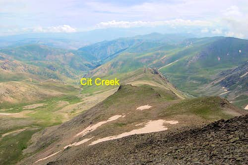 Cit Creek Valley