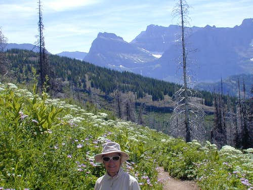 Highline Trail below Granite Park