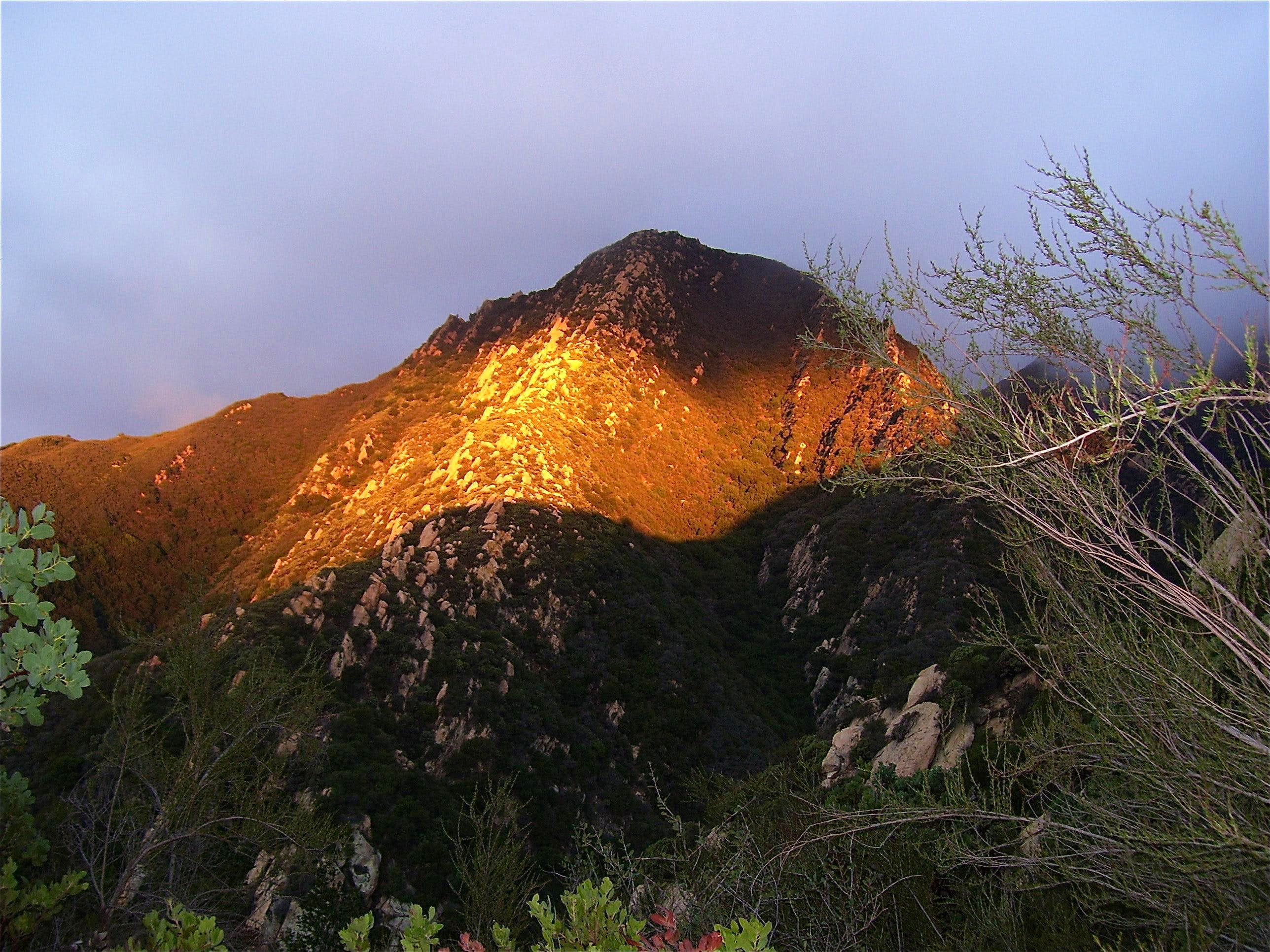 Crags of Camino Cielo Ridge