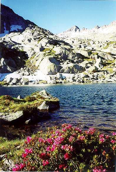 Lake of Estelat, climbing the Turon de Néouvielle