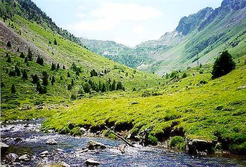 Vallée de La Glère, on the foot of the Turon de Néouvielle