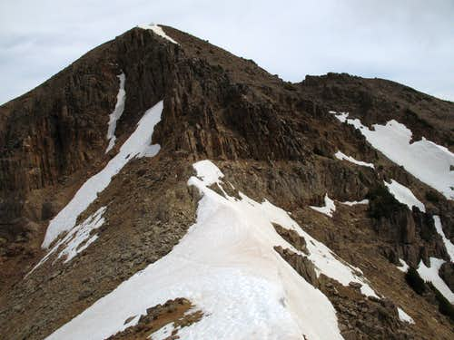 End of the Traverse-- Corner Peak