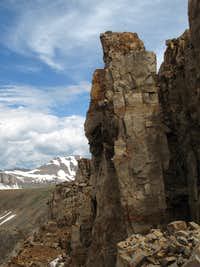 Pinnacle on the Traverse