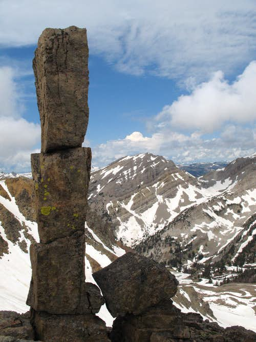 Pillar on the Traverse