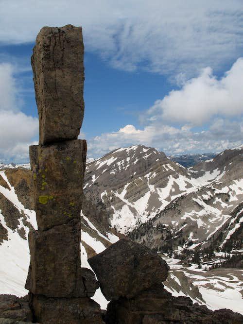 Pillar on the Traverse