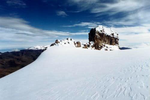 Espolon del Gusano. Nevado...