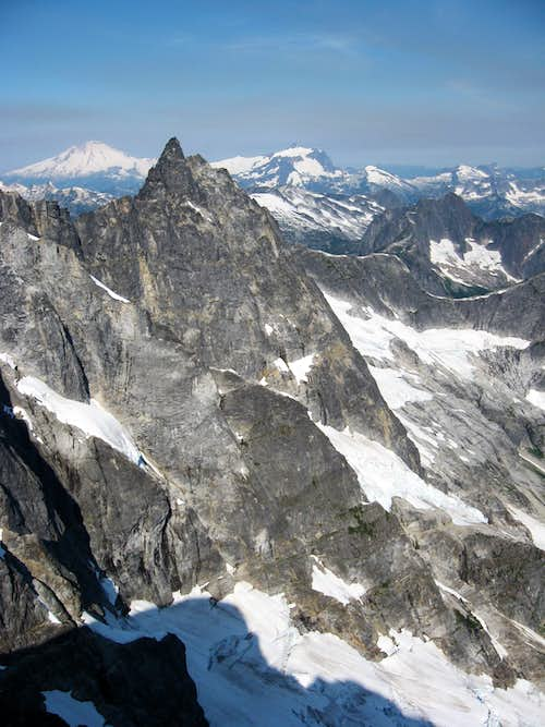 West of McMillan Spire