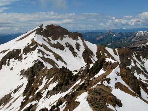 Mac Leod Peak and the Ridge Traverse