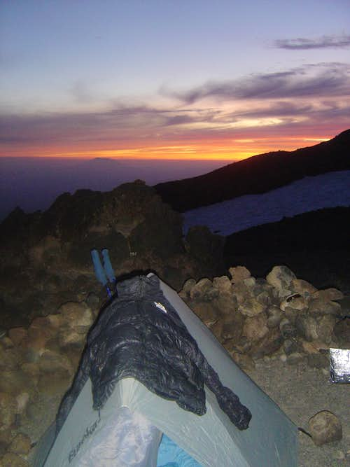 Mt Adams Camp