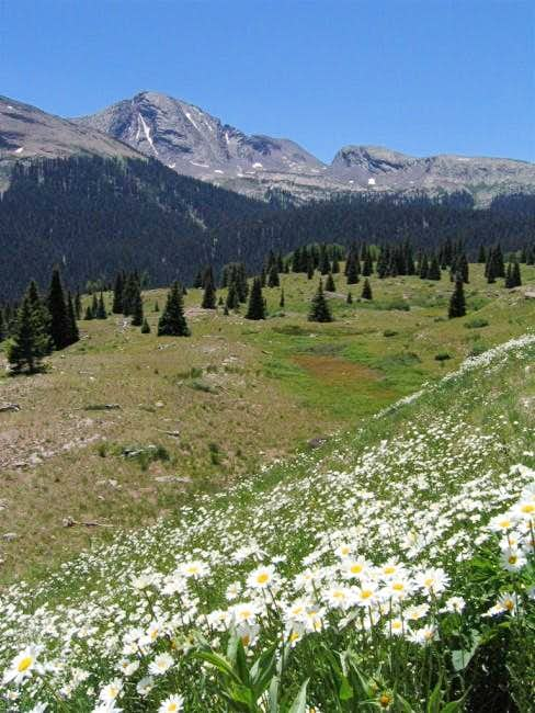July 2003 Snowdon Peak from...