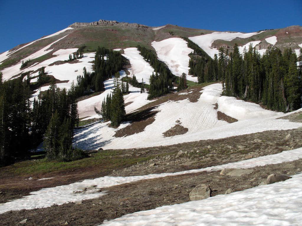 Summit Along the SE Ridge of Hoback Peak