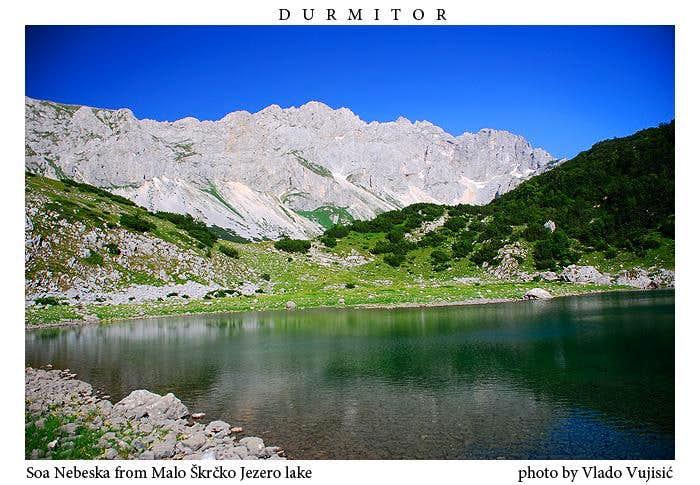 Malo Škrčko Jezero lake