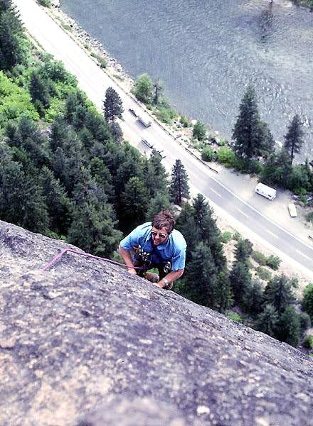 Fred topping out Midway on...