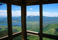 From the Firetower on the summit