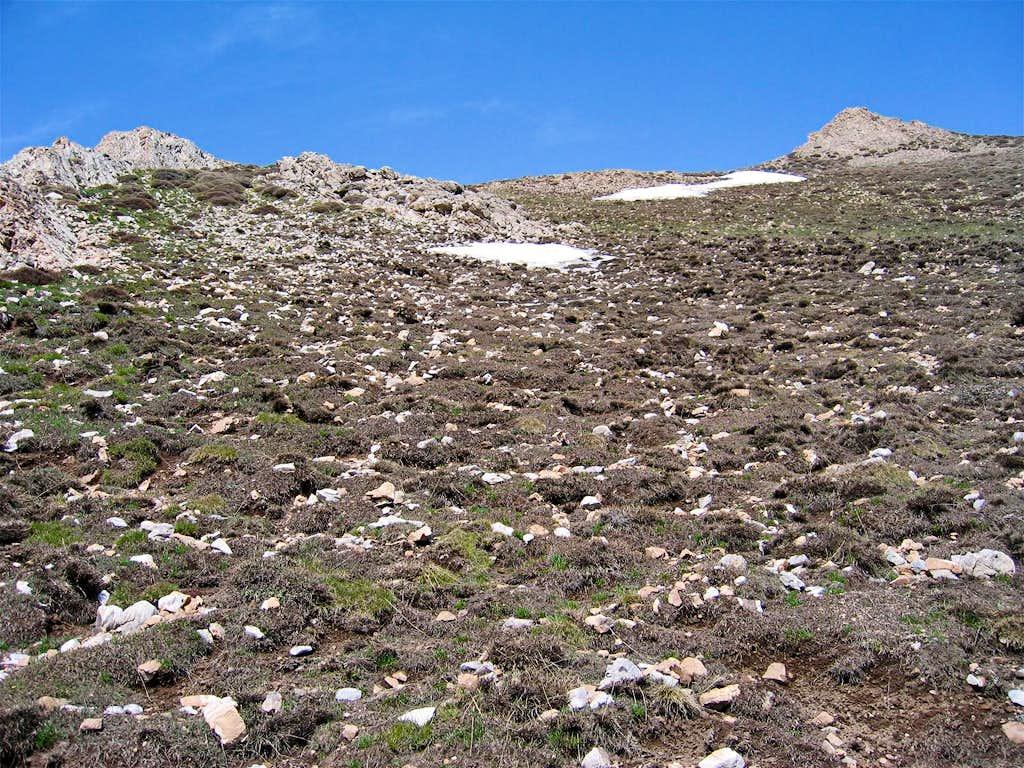 On the east slopes of Changiz Chal II