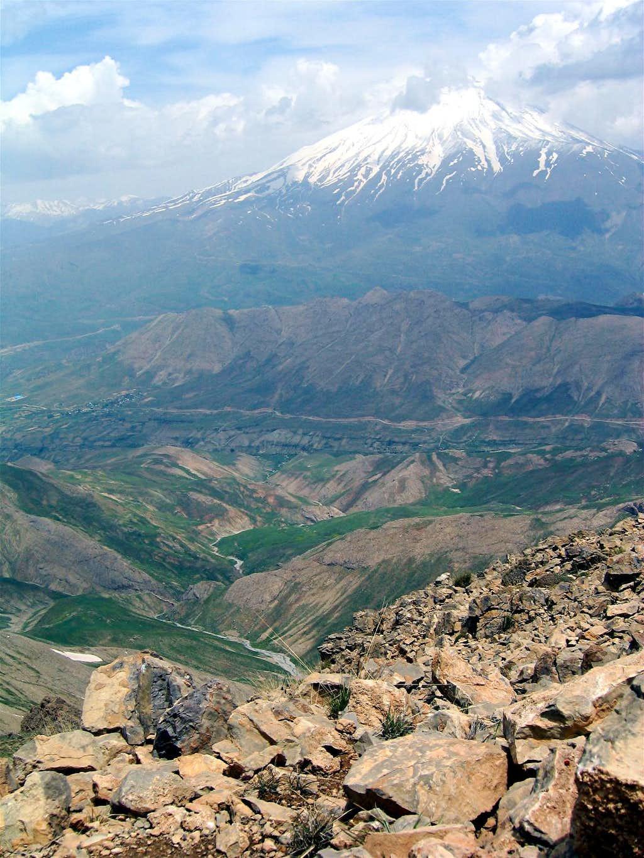 View of Mt. Damavand