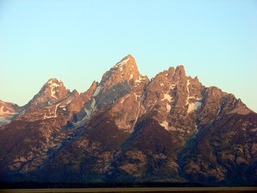 Early Morning Teton