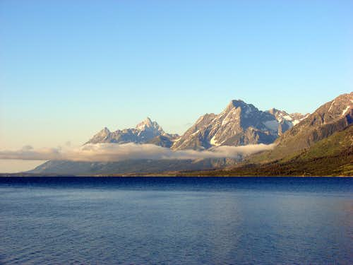 The Tetons and Jackson Lake