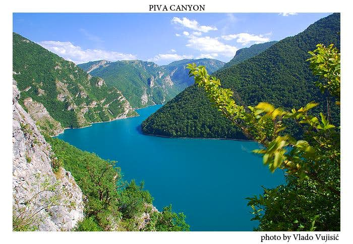Piva Canyon