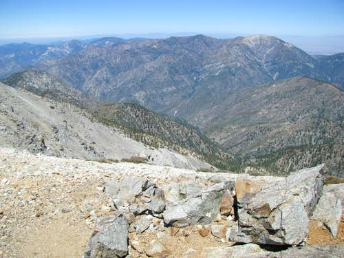 San Gabriels and Mt. Baden Powell