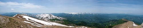 180° summit panorama