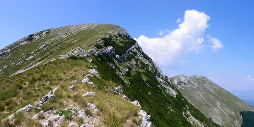 Sv. Brdo eastern face