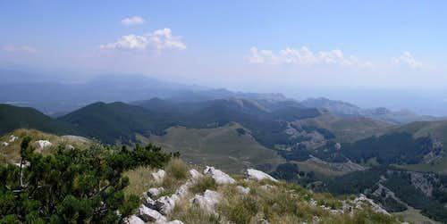 Dusice valley from Sv. Brdo