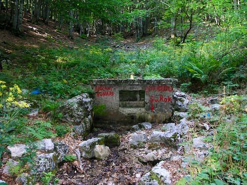 Liscani bunari well
