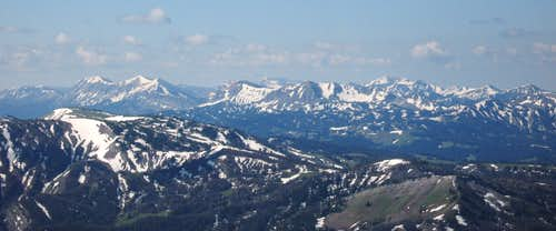 View South from Hoback Peak