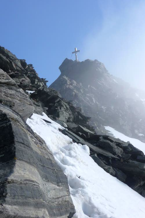 Ankogel final ridge