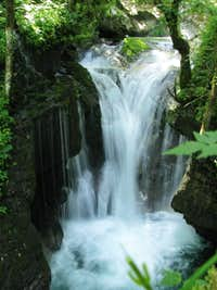 Waterfall in Sunnikov Gaj
