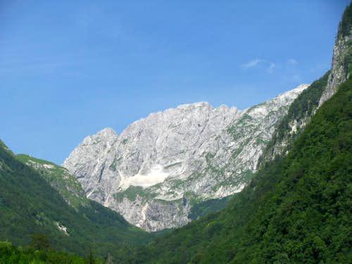 Peak above Bavsica