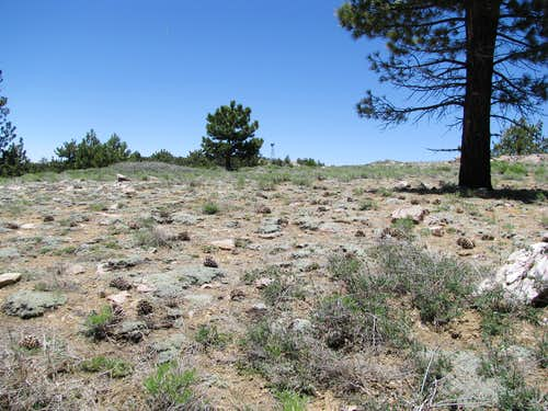 Summit towers on Pinos