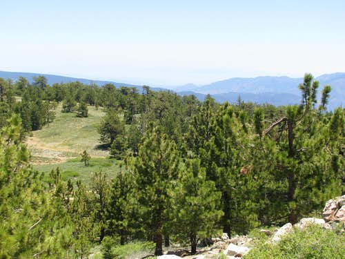SE from Pinos Summit
