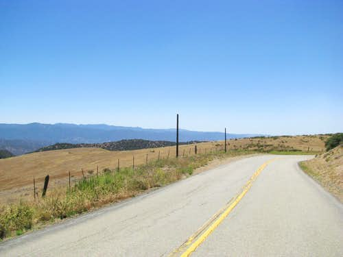 southwest towards San Rafael Wilderness