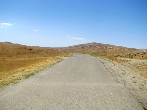 Entering Carrizo Plain from the South