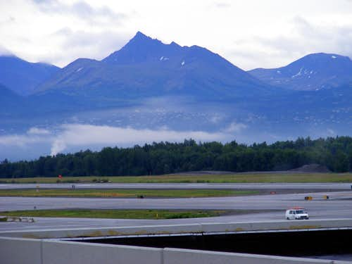 From Anchorage International Airport